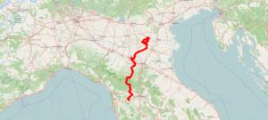 romea longobarda mappa